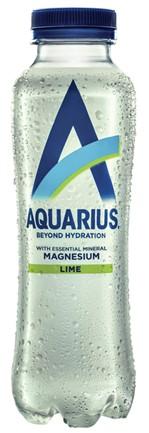 Frisdrank Aquarius Hydration Lime fles 0.40l