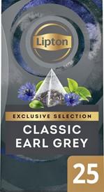 Thee Lipton Exclusive Earl Grey 25 piramidezakjes