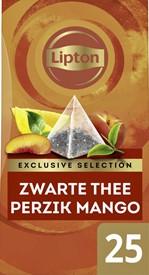 Thee Lipton Exclusive Perzik Mango 25 piramidezakjes