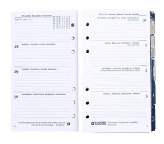 Agendavulling 2021 Succes Standard 7 dag/2 pagina
