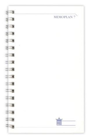 Agenda 2021 Ryam memoplan 7 staand nappa assorti