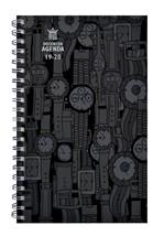 Agenda 2019-2020 Ryam docenten spiraal skyline zwart