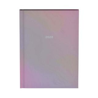 Agenda 2020 Lannoo QC sparkle glanzend roze