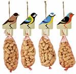 Vogelhanger inclusief pinda's assorti