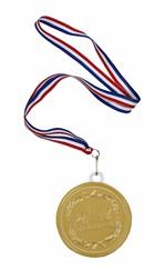Medaille van chocolade