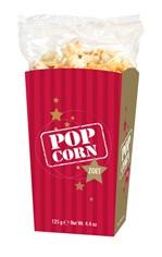 Popcorn zoet 125gr goud/bordeaux