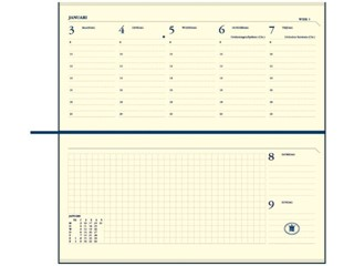 Agenda 2018 Ryam Notations 7dag/2pagina's Mundior zwart
