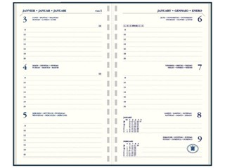 Agendavulling 2018 Ryam Memoplan 7 ringplastic