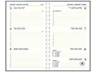 Agendavulling 2019 Ryam Memoplan 7 ringplastic cremekleurig