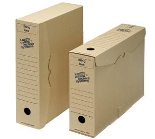 Archiefdoos Loeff's Filing Box 3003 folio 345x250x80mm karton