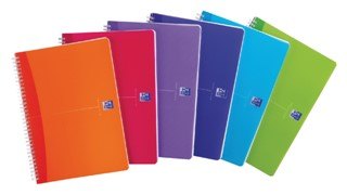 Adresboek Oxford MyColours A6 80vel gelinieerd assorti