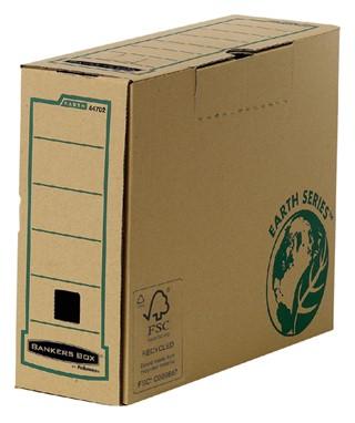 Archiefdoos Bankers Box Earth A4 100mm bruin