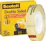Dubbelzijdige plakband Scotch 665 12mmx22.8m