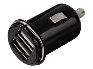 Autolader Hama USB Picco Duo zwart