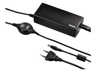 Adapter Hama notebook universeel 15-24V  90W zwart