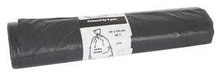 Afvalzak Blinc 60x80cm 14micron sterk 60liter grijs 20stuks