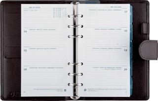 Agenda 2018 Succes organizer Standaard met sluitlip bruin
