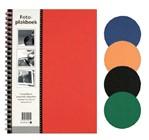 Plakboek Papyrus 160x215mm 40vel assorti
