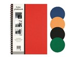 Plakboek Papyrus 160x215mm 40vel assorti