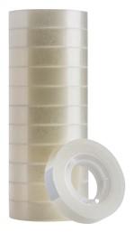 Plakband Quantore 12mmx33m transparant