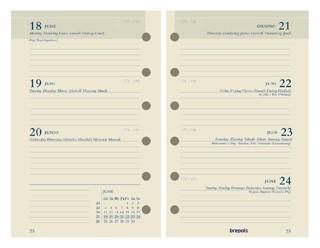 Agendavulling 2021 Brefax 27 7dag/2pagina 6talig