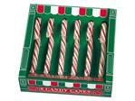 Candy Canes doos 6 stuks rood/wit
