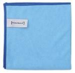 Microvezeldoek professional blauw 38x38cm 10 stuks