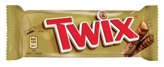 Twix repen single 50gr 25 stuks