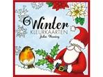 Winterkleurkaart Julia Woning incl 20 enveloppen
