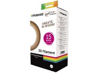 Navulling 3D pen Polaroid root play filament 1.75mm hout assorti
