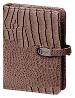 Agenda 2020-2021 organizer Kalpa Pocket Junior gloss-croco taupe