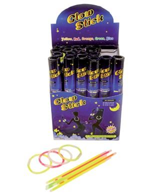 Glow stick 20cm display à 24 kokers