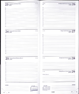 Agenda 2021 Brepols Saturnus lang 7dag/2pagina's zwart