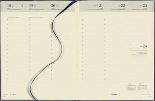 Agenda 2021 Brepols Concorde 7dag/2pagina blauw