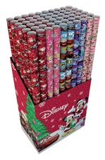 Inpakpapier Kerst Kids 200x70cm assorti