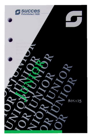 Agendavulling 2021 Succes calendarium junior 7 dag/2 pagina
