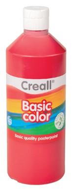 Plakkaatverf Creall basic 06 donkerrood 500ml
