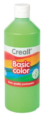Plakkaatverf Creall basic 14 lichtgroen 500ml