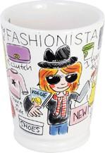 Blond mok fashion