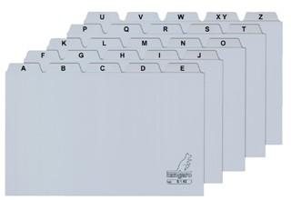 Alfabet HF2 135x200mm PP grijs