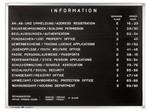 Letterbord Legamaster Premium 30x40cm rubberprofiel